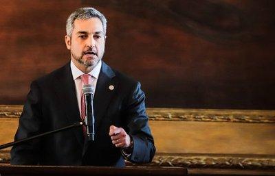 Mario Abdo hace un llamado a la paz en Venezuela