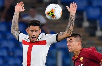 Con penal a Sanabria, el Génova derrota al Sassuolo