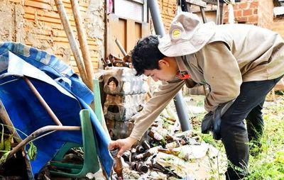 En 10 barrios de Capital se concentran casos de dengue
