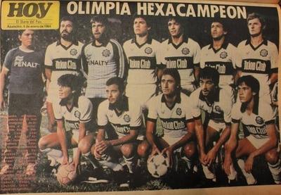 HOY / Olimpia único hexacampeón del fútbol paraguayo