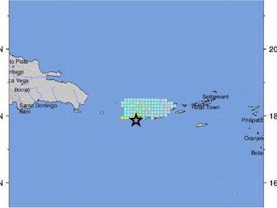 Un sismo de magnitud 5,8 sacude el sur de Puerto Rico