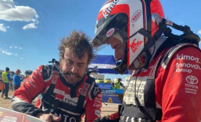 HOY / El Dakar vapulea al bicampeón de la Fórmula Uno