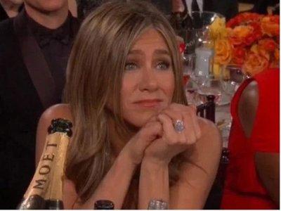 La tierna mirada de Jennifer Aniston ante la broma de Brad Pitt