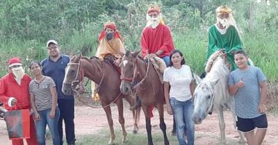 No llegaron en camello, lo hicieron ¡en caballo!