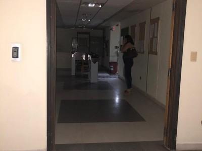 Cámara de Diputados permanece a oscuras luego del temporal