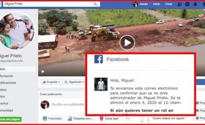 Hackers se apoderaron de la página de Miguel Prieto