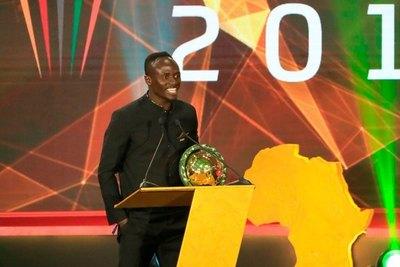 Sadio Mané fue elegido como el mejor jugador africano del 2019