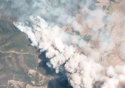 Humo de incendios en Australia llega a Brasil