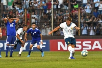 Paraguay empató con Argentina en un amistoso de cara al Preolímpico