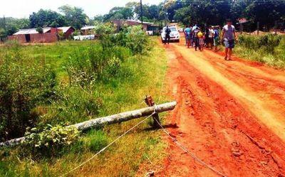 Fiscal investiga a ANDE por muerte de niño tras pisar cable suelto