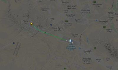 Irán: Se estrella avión en zona de tensión y no hay pasajeros sobrevivientes