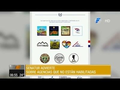 Senatur advierte sobre agencias de turismo sin habilitación
