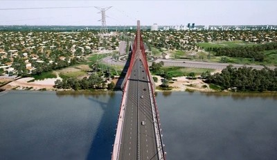 Arranca proceso de construcción del tercer puente que unirá las regiones Oriental y Occidental