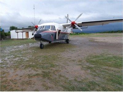 Avión de Setam quedó descompuesto en Bahía Negra