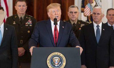 Trump sale al paso tras ataque de Irán y estas son sus frases más contundentes