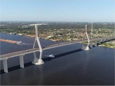 Cómo será el puente atirantado que unirá Asunción y Chaco'i
