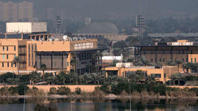 Cohetes impactan en zona de embajada estadounidense en Irak