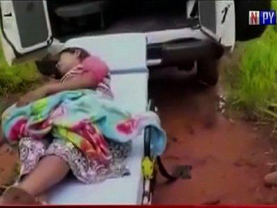 Efectivos de la FTC asisten parto de una mujer en Tacuatí