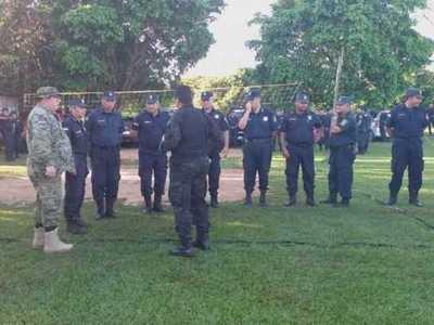 Inminentemente desalojo de invasores en Pindo'í