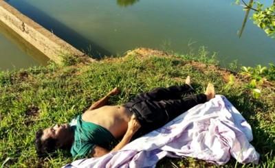 Pescador muere al intentar destrabar anzuelo en el fondo de un tajamar