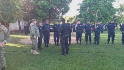 Caaguazú, otra vez un polvorín. Unos 1.500 policías permanecen alertas ante desalojo que se realizará en Pindo'i