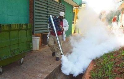Dengue: Fumigación en el Hospital de Luque •