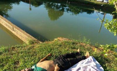 Pescador muere ahogado en un tajamar