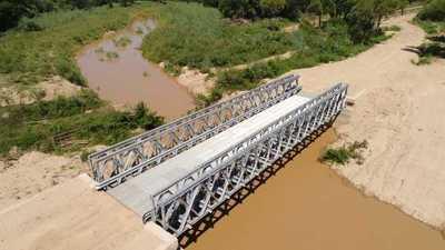 MOPC construirá este año 900 metros lineales de puentes metálicos en todo el país