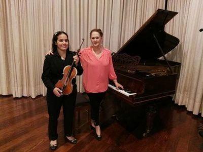 Fallece violinista Lucrecia Taglorietti