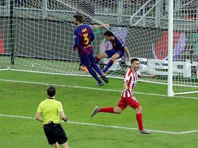 Diez minutos de inspiración llevan a la final al Atlético