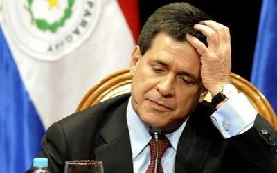 Justicia brasileña admite denuncia contra el ex presidente Horacio Cartes
