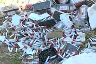 Investigarán a responsables de acumular basura patológica