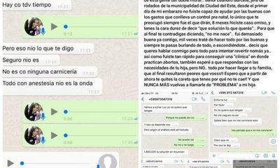 Funcionario de la Municipalidad de CDE exigió a una joven que aborte
