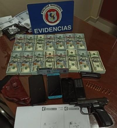 Denuncian procedimiento extorsivo de efectivos policiales de Delitos Económicos de CDE