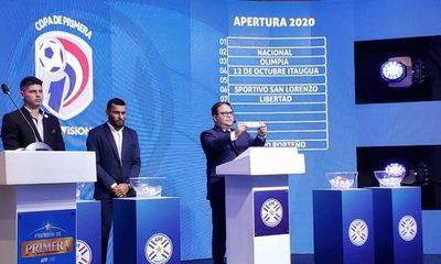 Programaron las dos primeras fechas del Apertura 2020