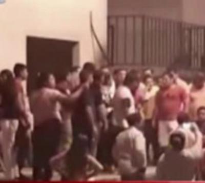 Disputa política en subsede de Gobernación de San Pedro