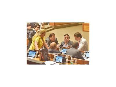 Diez parlamentarios informaron que están fuera del país