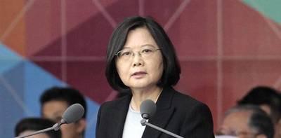Con una aplastante mayoría, presidenta de Taiwán fue reelecta