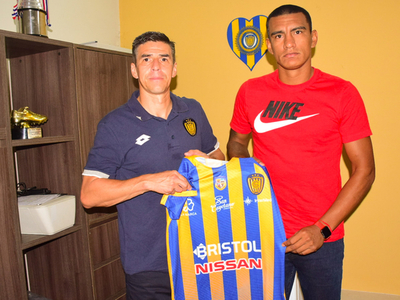 Jorge Paredes llega al Sportivo Luqueño