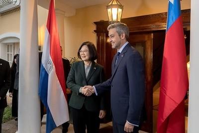 Mario Abdo felicitó a Tsai Ing-Wen por lograr su reelección como presidenta de Taiwán