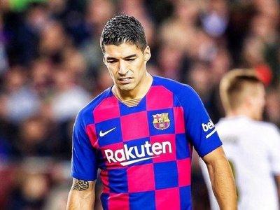 Luis Suárez, cuatro meses de baja