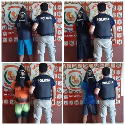 Un detenido y tres demorados por crimen de cambista en Ciudad del Este