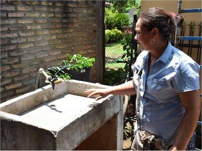 En Guairá y Canindeyú,  campesinos sufren por escasez de agua potable
