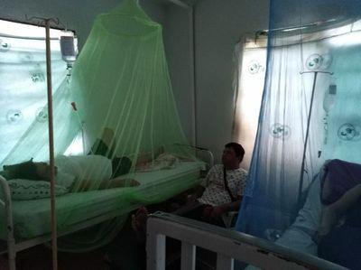 Solo tres departamentos no reportan casos de dengue