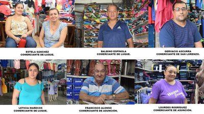Alarmante situación de comerciantes