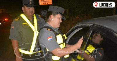 Patrulla Caminera reportó 422 casos de alcotest positivos en la última semana