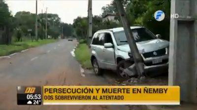 Primeros detenidos por asesinato de joven en Ñemby