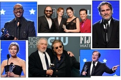 Ganadores de los Critics' Choice Awards 2020