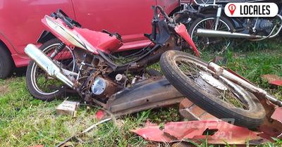 Automovilista chocó y abandonó a una mujer en Encarnación