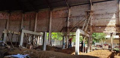 Mal les pese a algunos, avanzan a ritmo sostenido obras en el estadio municipal